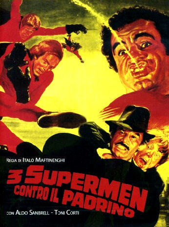 1979 - supermenler - 3 supermen contra el padrino 1