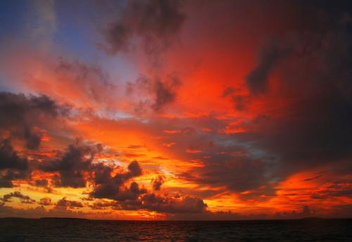 tramonto maldiviano by motumboe