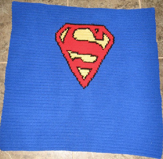 Superman Knitting Pattern : Ravelry: Superman Logo Chart pattern by Elizabeth Thomas