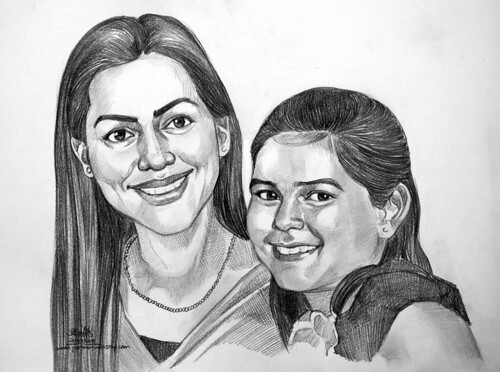 Portraits in pencil 200708