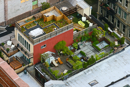 Rooftop Gardens in New York City