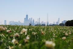 Mole's Eye View (*Sage* TokyoChicago) Tags: chicago skyline john hancock johnhancock