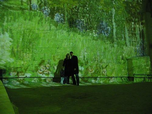 Cathédrale des Images - Van Gogh exhibit