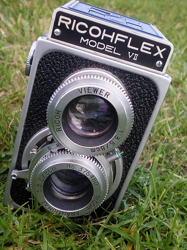 Ricohflex Model VII Vintage Camera