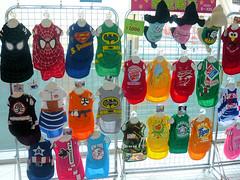 dog chien animal japan geotagged clothing asia elmo spiderman superman batman osaka asie wardrobe cloth kansai japon dragonball garment vêtement dogclothes dogclothing geo:lat=34638204 geo:lon=135411467