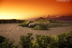 Mount Bromo, Batok & Semeru (Infrared) (2121studio) Tags: travel mountain nature indonesia ir nikon bravo d70s ali journey solo malaysia infrared indah kuantan surabaya alam erupting mountbromo mountsemeru centraljava eastjava gunungbromo jateng gunungsemeru 50faves 10faves jatim 25faves the4elements anawesomeshot goldstaraward convertedinfraredcamera 2121studio oranggunung kuantanphotographer pahangphotographer luarbiasa pergunungan colorsinourworld ciptaanallahswt malaysianinfraredphotographer smokingmountbromo photographerdreamspot gunungbromomahumeletup