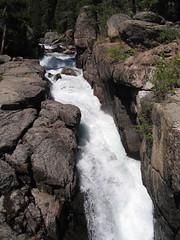 roaring waterfall (izatchu) Tags: trip summer mountains montana august roadtrip beartooth