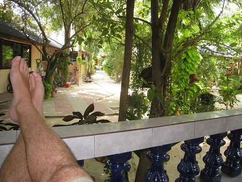 View from a Tropicana bungalow