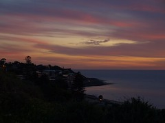P8280185 (suey_j) Tags: sunset sky beach nature clouds evening adelaide southaustralia