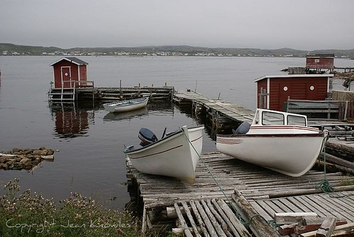 Boats at Joe Batt