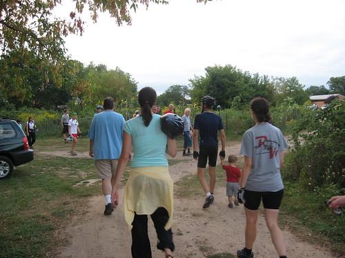 PedalGR - Touring Hillcrest Community Garden