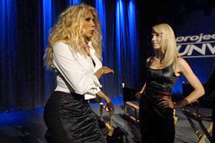 RuPaul and Heidi Klum