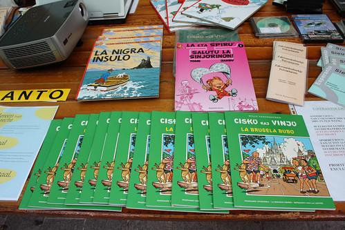 Suske en Wiske in het esperanto