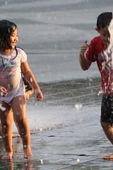 20080907_093 (*chiwai*) Tags: hk motion cute water fountain rain kids children happy hongkong drops action joy innocent lovely lantau citygate tungchung
