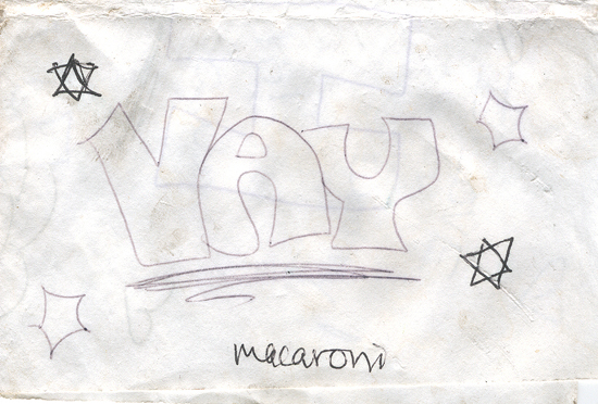 Found - Yay Macaroni (Click to enlarge)