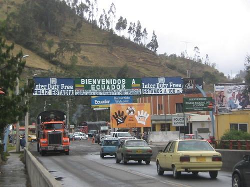 colombia de ecuador: