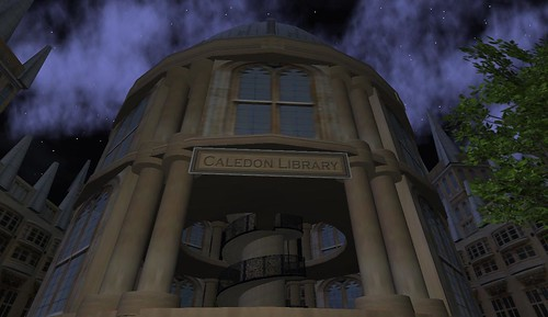 the Caledon Library at the Oxbridge University