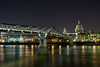 St. Pauls Millenium Bridge, London (Souvik_Prometure) Tags: uk longexposure london westminster night stpauls millenium pauls soe 30sec flickrsbest mywinners platinumphoto aplusphoto estremità theunforgettablepictures overtheexcellence souvikbhattacharya