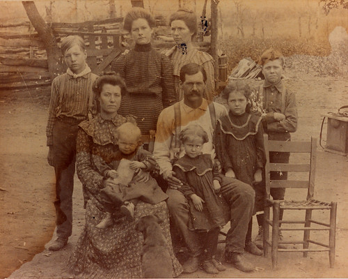Maggie & Charles Wesley Truitt & Family (Jessie's Dad & Stepmother)