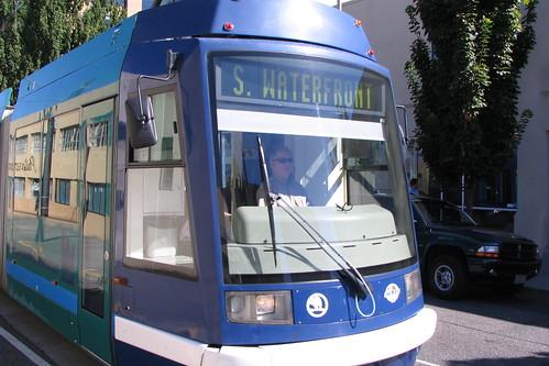 Portland TriMet Streetcar by markmusicgreen.