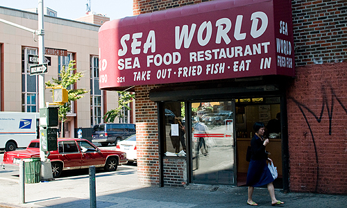 Downtown Lunch: Sea World