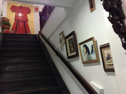 古色古香的木樓梯