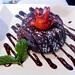 James' chocolate lava pudding