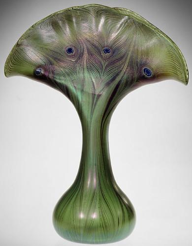 001-Jarron de Cristal Favrile 1893-1896