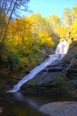 Dingmans Falls (zwz64) Tags: autumn newjersey nikon rockstar pennsylvania nj pa waterfalls hdr delawarewatergap dingmansfalls photomatix d80 andromeda50 mygearandmepremium dblringexcellence