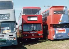 03a-01 (Ian R. Simpson) Tags: bck706r vlt240 tmx535r leyland titan parkroyal londontransport jfishwicksons londonbuses bluetriangle beestons universitybus aintreecoachline bus demonstrator