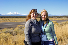 Tamara and Laura Puckey at The Three Sisters; The Fair Trade movie