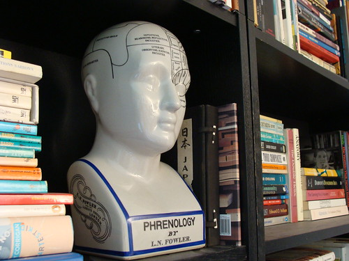 The phrenology head at home