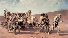 Caïn (1880), tableau de Fernand Cormon d'après La Légende des Siècles