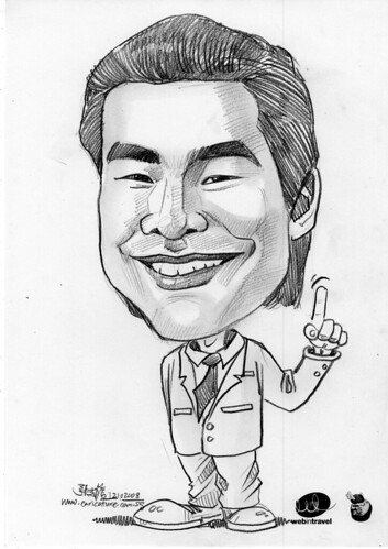 Caricatures Web in Travel 2008 Andrew Chan
