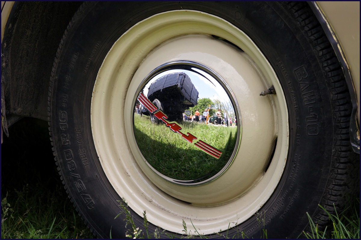 GAZ M20 Pobeda Wheel