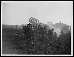 Attack on Hindenburg line (National Library of Scotland) Tags: infantry army war tank general britain wwi line worldwari german worldwarone soldiers british westernfront ww1 greatwar firstworldwar tanks panzer 1918 worldwar1 haig nls hindenberg thegreatwar gernany douglashaig nationallibraryofscotland 19141918 generalhaig generaldouglashaig hindenbergline armoredwarfare armouredwarfare nls:dodprojectid=74462370 organization:library=nationallibraryofscotland owner:name=nationallibraryofscotland nls:source=solrxml nls:dodid=74548964 nls:derivative=74407427