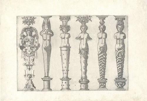 Caryatidum (Vulgas Termas vocat) 1565 c