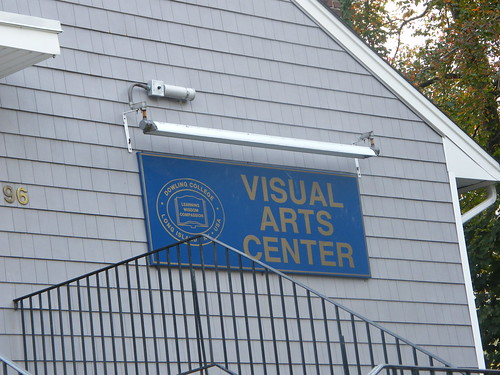 Visual Arts Sign