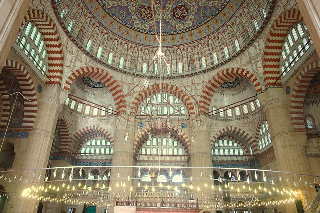 The Selimiye Mosque in Edirne