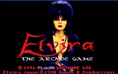 Elvira: The Arcade Game screenshot #1