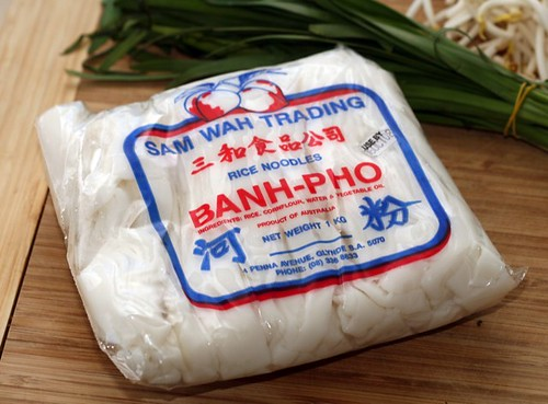 Fresh rice noodles