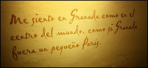 y Granada, claro