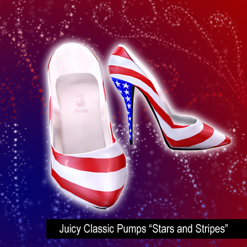 "Juicy Classic Pumps ""Stars and Stripes"" by you."