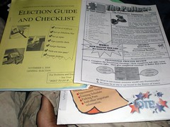 Presidential General Election poll worker materials