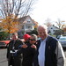 Congressman Chris Shays at the Polls