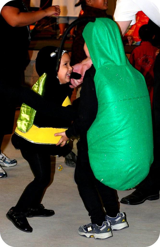 Dancing on Halloween