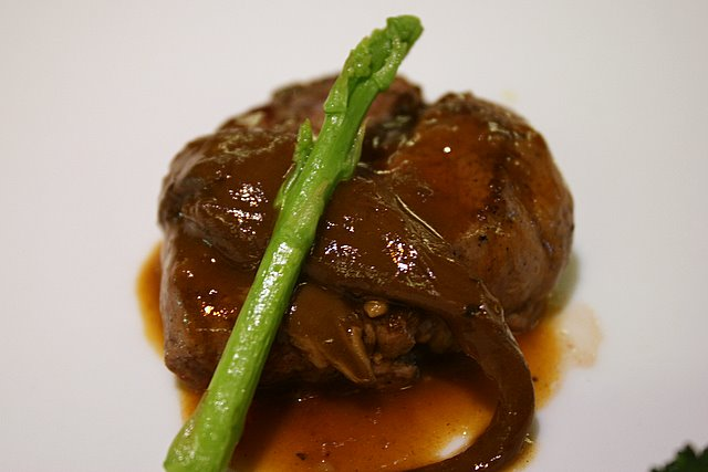 Fillet of Beef with Signature Mushroom Sauce