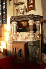Pulpit All Saints - Braunston