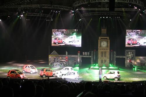 Top Gear Live Smart Car Footy