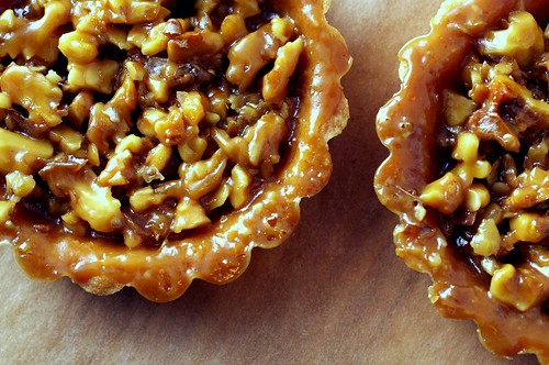 walnut tartlets